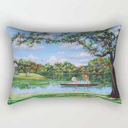 Mary Poppins in the park Rectangular Pillow