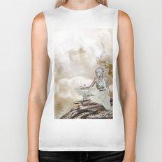 Fairy and the swan Biker Tank