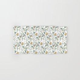 Spring Garden -white Hand & Bath Towel