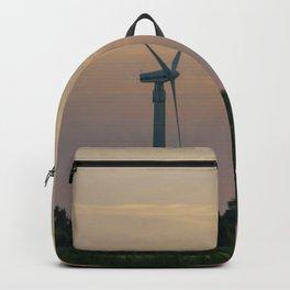 ad solis occasum ventus turbines ab Horumersiel Backpack