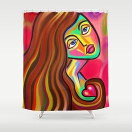 Love is Near Shower Curtain