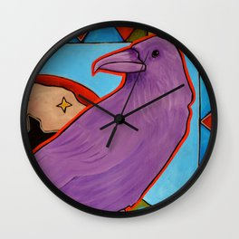 When the Stars Remember Me Wall Clock