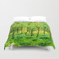 narnia Duvet Covers featuring Wood Between the Worlds by Jenny Chatterton