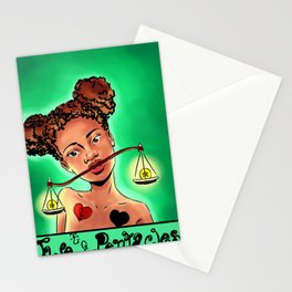 Two of Pentacles Tarot Stationery Cards