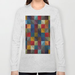 Abstract Composition 250 Long Sleeve T-shirt