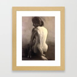 female figure II Framed Art Print