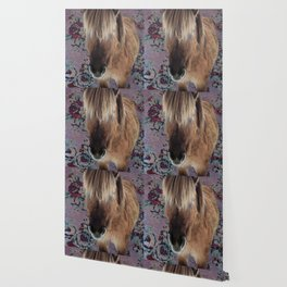 floral Icelandic pony Wallpaper