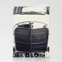 mercedes Stationery Cards featuring Benz by farsidian