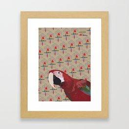 The Ara Parrot Gallery Giftshop Framed Art Print