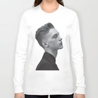 boys Long Sleeve T-shirts featuring Boys by Grace Teaney Art