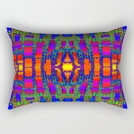 Rainbow Town Rectangular Pillow