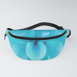 Blue flower Fanny Pack
