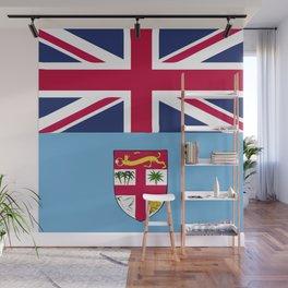 Fiji flag emblem Wall Mural