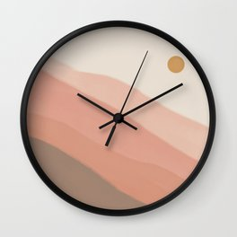 Peace Unspoken, Just Known Wall Clock