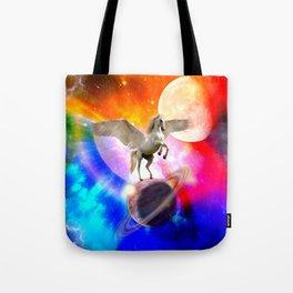 space unicorn. Tote Bag