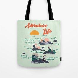 Adventure Shibas Tote Bag