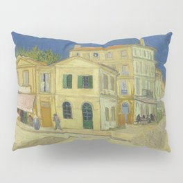 The Yellow House by Vincent van Gogh Pillow Sham