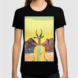 Gazelle and the cabin T-shirt