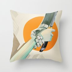 SERVITUDE Throw Pillow