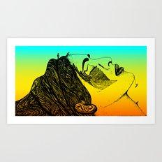 Ghazala Art Print