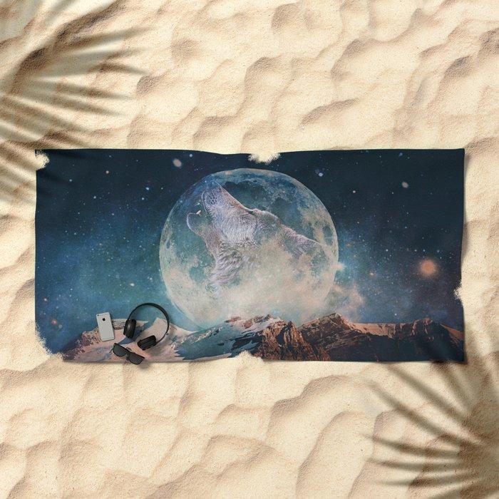 Lake Moon Beach Towel
