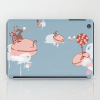 "macaroon iPad Cases featuring Macaroon Heaven by Barbora ""Mad Alice"" Urbankova"