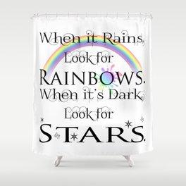 When it Rains... Shower Curtain