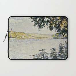 View of the Seine at Herblay Laptop Sleeve