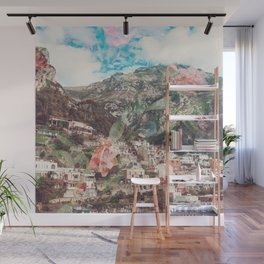 Floral Amalfi Wall Mural