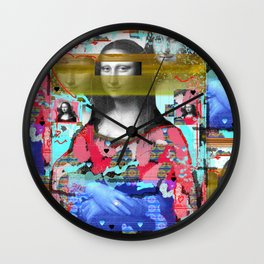 My Mona Wall Clock