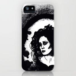 Helena Bonham Carter iPhone Case