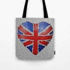 The Union Flag ~ Love Tote Bag