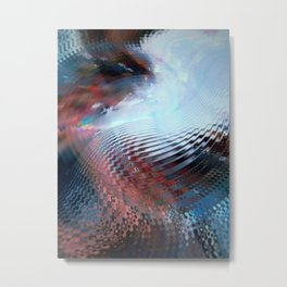 Abstract sky and water Metal Print