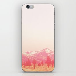 Mammoth in Pink iPhone Skin