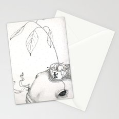 Fish and Avocado Stationery Cards