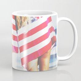 Sexy Americana Beach Girls Coffee Mug