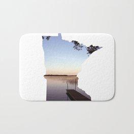 Lake Minnesota Bath Mat
