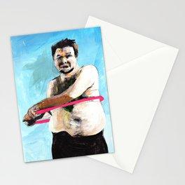 Hula Hooping Stationery Cards