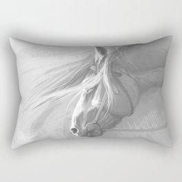Grey Rectangular Pillow