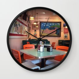 Naked Lunch in Key West Wall Clock