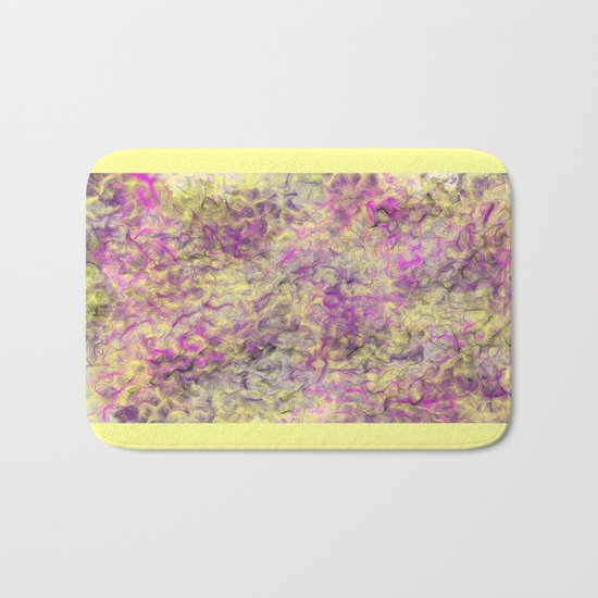 Field of Wild Bath Mat