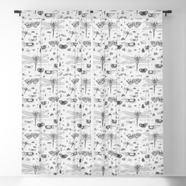 Braf insects Blackout Curtain