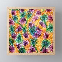 Fire Palms Framed Mini Art Print