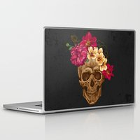 animal skull Laptop & iPad Skins featuring Skull by eARTh