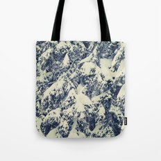Snowy Branches Tote Bag