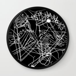R&EI&A Wall Clock