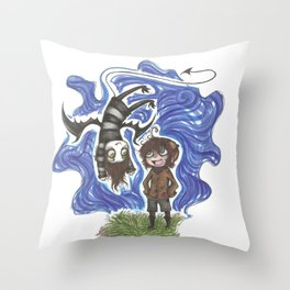 We will always be friends  Throw Pillow