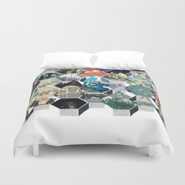 The Library of Babel Duvet Cover