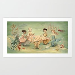 The Mermaid Dream by Emily Winfield Martin Art Print