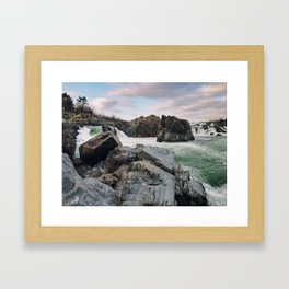 Constant Simultaneous End and Beginning Framed Art Print